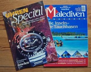Sonderheft Malediven und Beilage Uhrenspecial